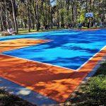 Bjelovarski Borik dobio novu podlogu za košarkaško igralište