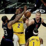 Zubac bez promašaja iz igre u gradskom derbiju, Russellu Westbrooku šesti triple-double u posljednjih sedam utakmica