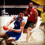 Košarkaš Patrik Jambrović se okitio srebrnom medaljom u rukometu na pijesku na Europskom prvenstvu